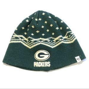 '47 Brand Green Bay Packers Winter Beanie Hat